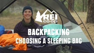 How to Choose Bąckpacking Sleeping Bags || REI