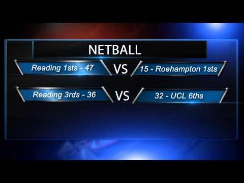 Reading University Sportscast Episode 1