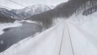 特急スーパー宗谷 筬島・佐久間走行 Ltd Exp Super Soya running between Osashima and Saku