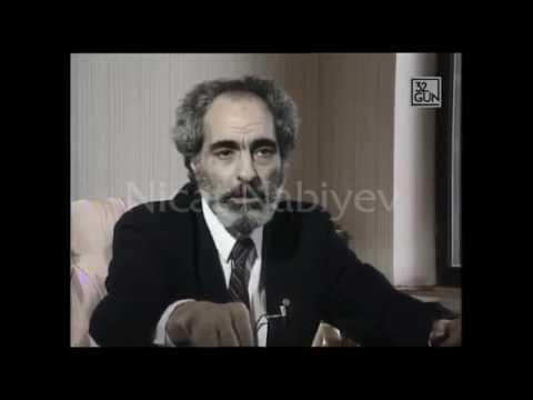 Prezident Elçibəyin 1993-cü ildə Türkiyə kanalına verdiyi müsahibə.