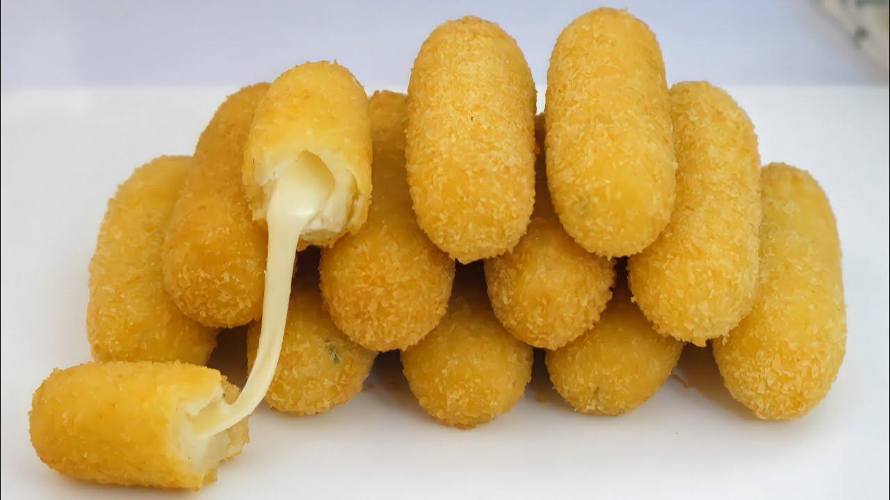 Punya Kentang Di Rumah? Resep kroket kentang keju mozzarella ini rasanya enak dan mudah