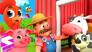 Old macdonald memiliki sebuah peternakan | Kartun anak | Super Supremes Indonesia | Bayi sajak