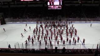 Dancing Queen - BU Bands On Ice Show at MIH vs UConn 2/16/19