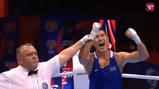 СЕНСАЦИЯ/ Бекзат Нурдаулетов/ КАЗАХ отправил в нокдаун олимпийского чемпиона/Бокс.