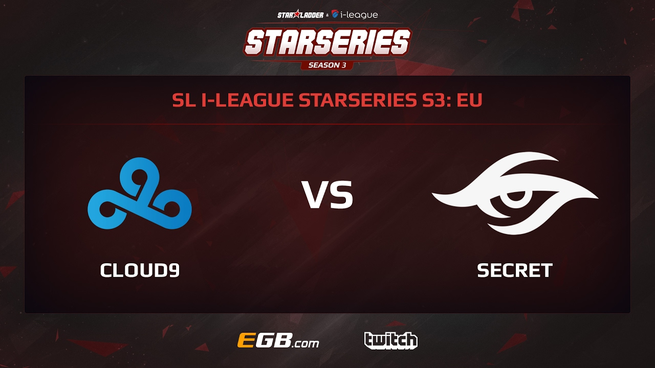 Cloud 9 vs Team Secret, Game 1, SL i-League StarSeries Season 3, EU