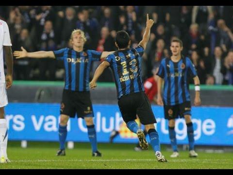 2011-2012 - Club Brugge - Racing Genk - GOAL Victor Vazquez
