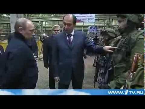 Izhevsk  Vladimir Putin priehal of concern