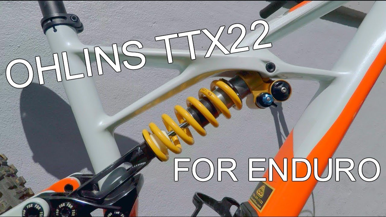 2d73f93c254 Coil Shock for Enduro | Ohlins TTX 22 First Ride - YouTube