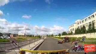 Подборка ЖЕСТКИХ ДТП на видеорегистратор ИЮНЬ 2015 !!! Auto Crash TV № 126 !! -2016