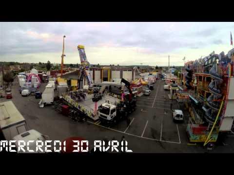 Time lapse - fête foraine Audincourt 2014 - GFcoas