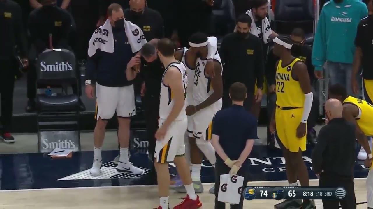 Donovan Mitchell injury: Jazz star to miss several games after MRI ...