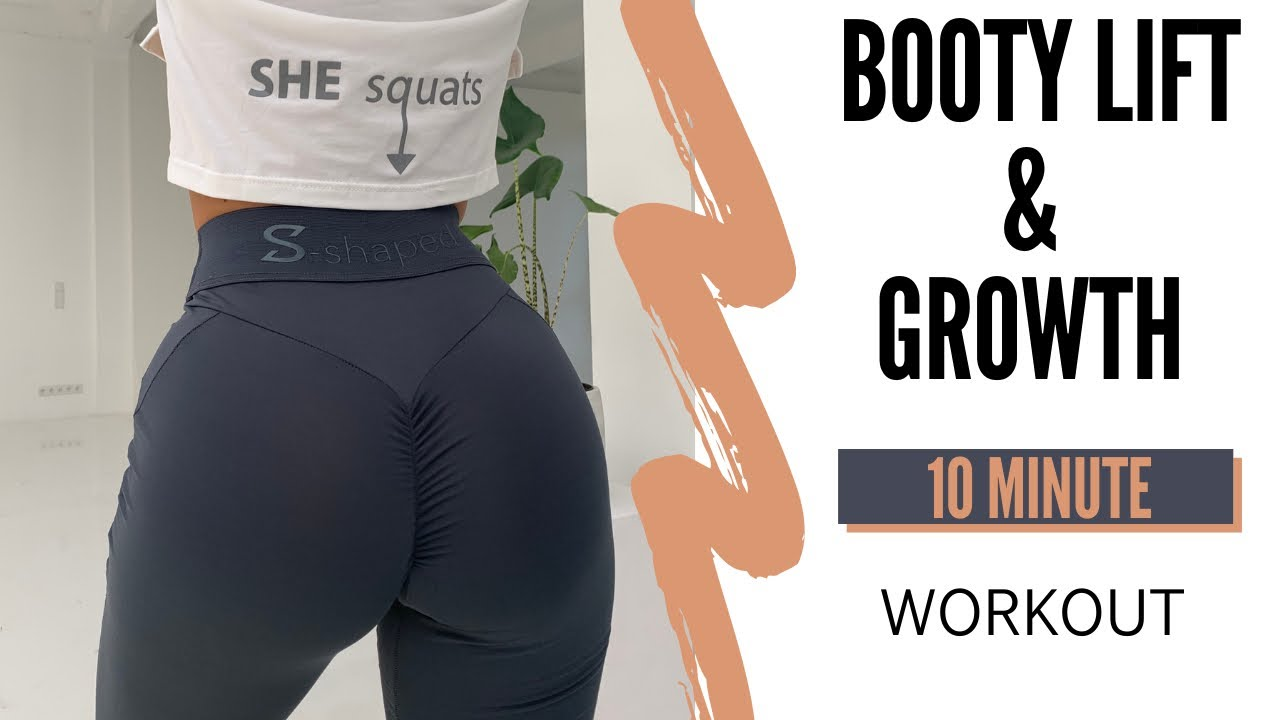 10 MIN BOOTY LIFT & GROWTH   28 DAY BOOTY CHALLENGE   DAY 1