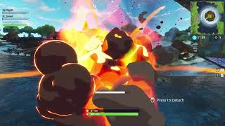 Leaked video of whats inside that tornado in fortnite