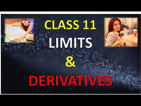 CLASS 11 LIMITS AND DERIVATIVES IN HINDI PART 1 NCERT CBSE
