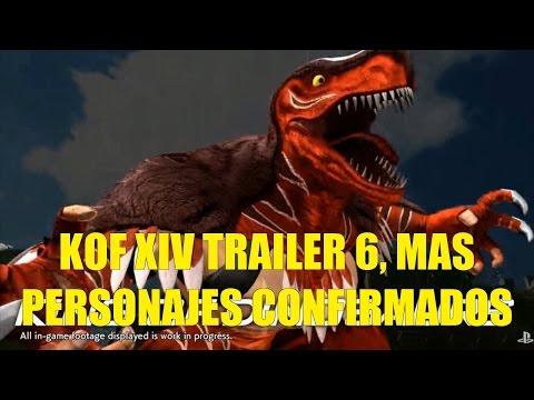 Este es el Trailer 6 de KOF XIV Tizoc con Nuevo Look y Más