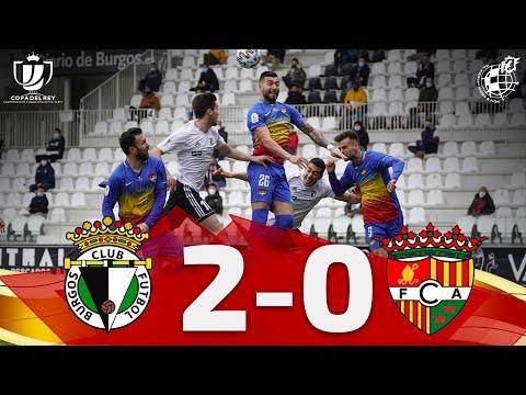 RESUMEN | Burgos CF 2-0 FC Andorra | 1ª eliminatoria Copa de SM el Rey
