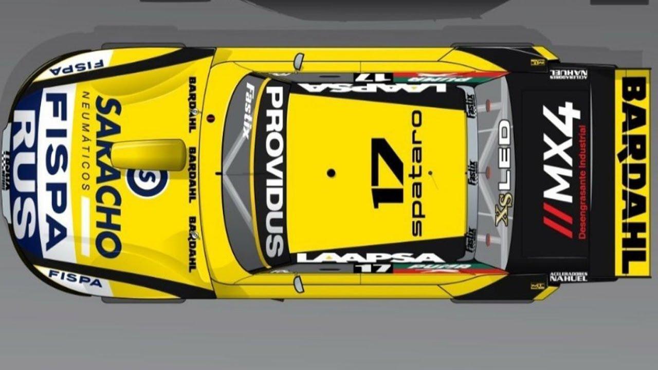 Spataro mide butaca de su Ford del Martínez Competición