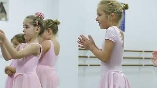Дети ДЕЛАЮТ балет. Открытый урок в танцевальной школе