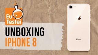 iPhone 8: hands-on e tudo o que vem na caixa - Unboxing EuTestei Brasil