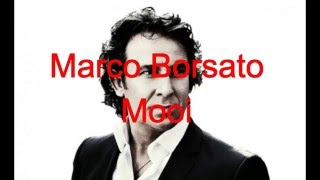 Marco Borsato - Mooi - Lyrics