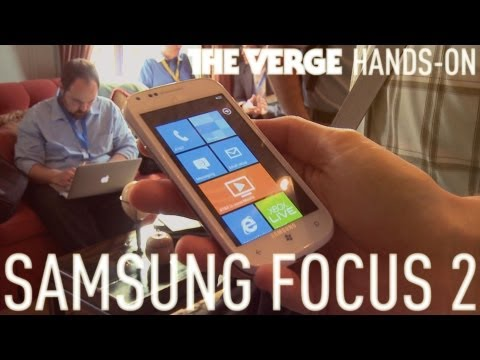 Samsung Focus 2 hands-on