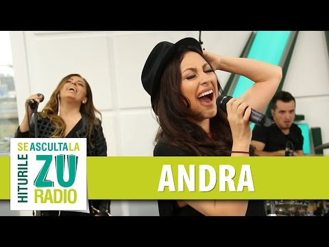 Andra feat. Cabron - Niciodata sa nu spui niciodata (Live la Radio ZU)