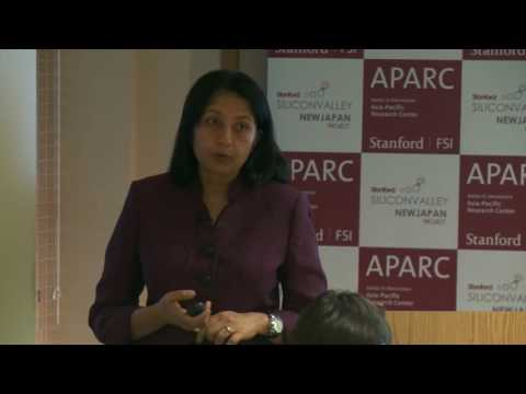 Anju Patwardhan | Stanford Silicon Valley-New Japan Project 12.5.16