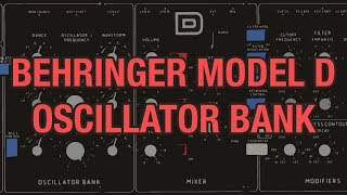 Behringer Model D #04 - Oscillator Bank