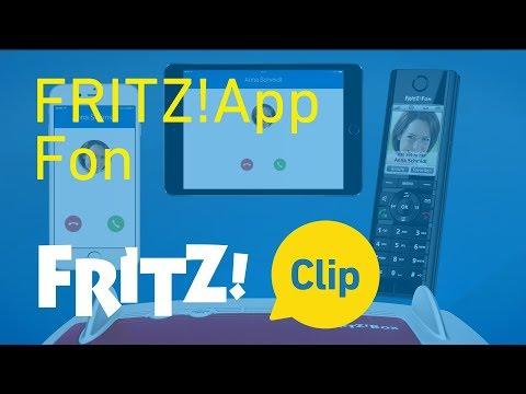 FRITZ! Clip – FRITZ!App Fon: Met smartphone en tablet bellen in het vaste net