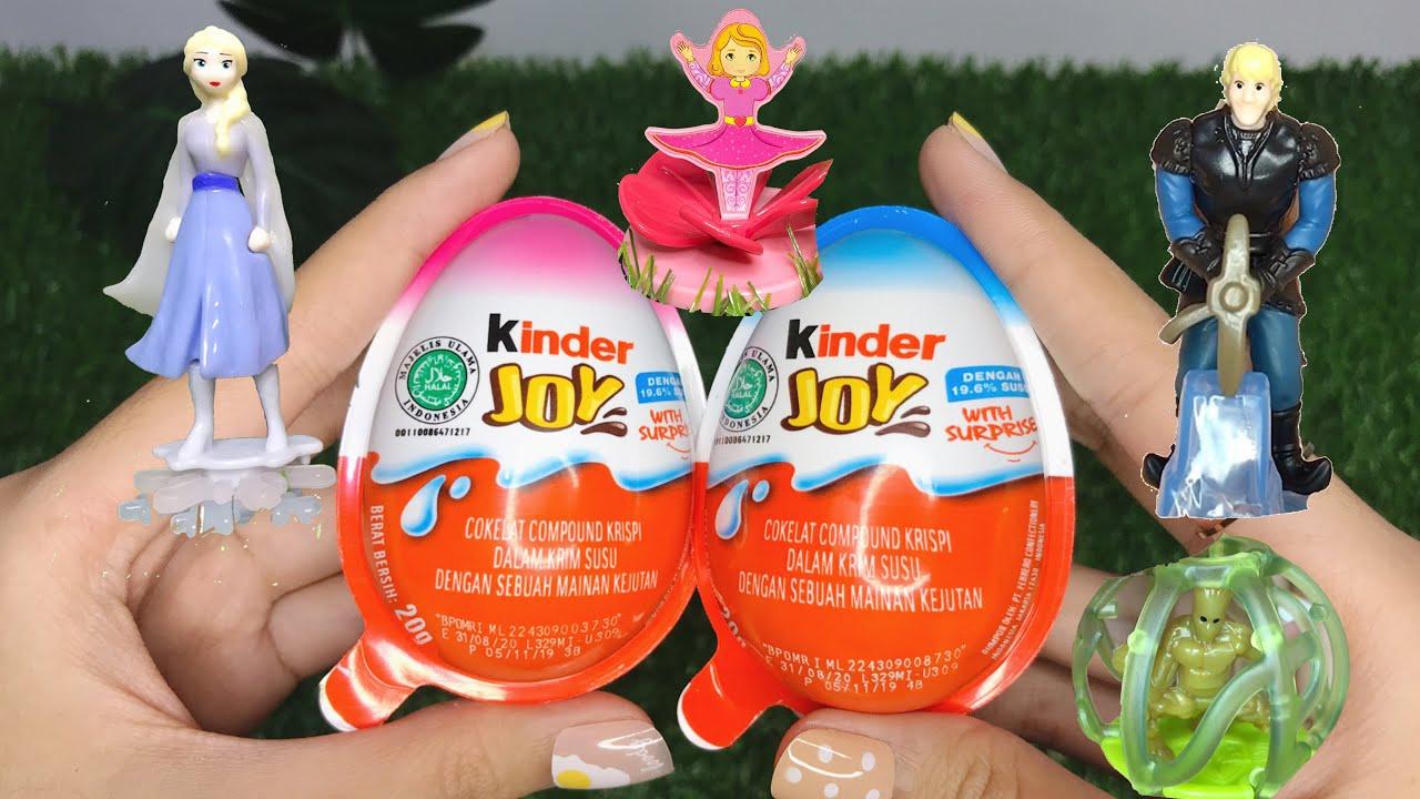 Kinder Joy Surprise Eggs Special Edition Youtube