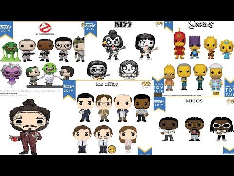 Funko Pop 2019 New York Toy Fair Unvieling Where To Find