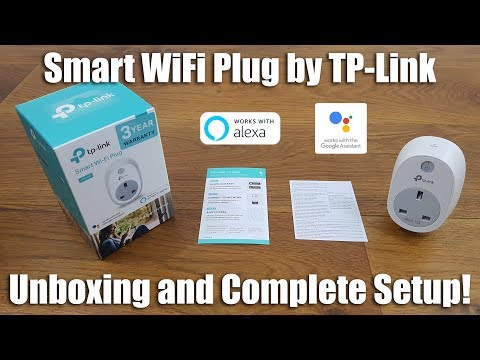 TP-Link HS100 WiFi Smart Plug [Unboxing and Setup] - YouTube