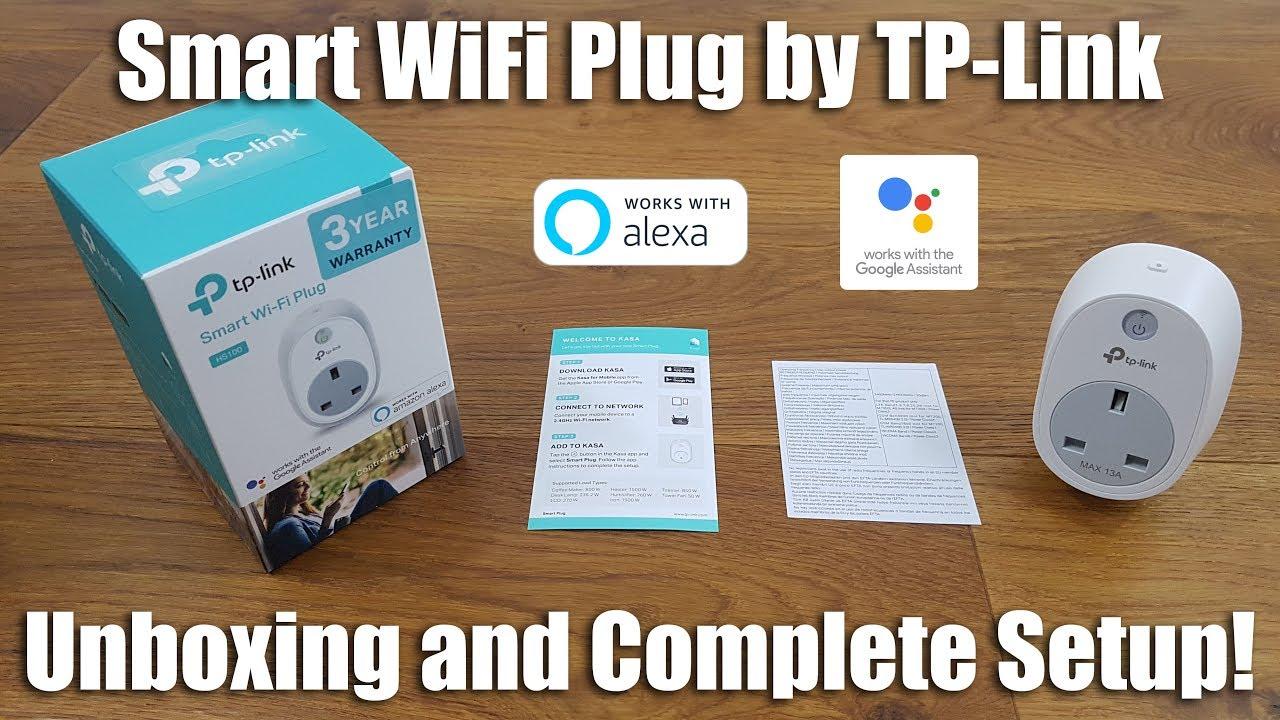 TP-Link HS100 WiFi Smart Plug [Unboxing and Setup]