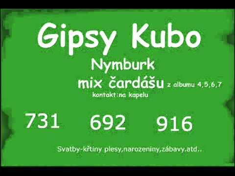 Gipsy Kubo- hodinový mix čardášu