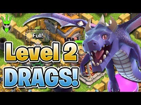 LEVEL 2 DRAGONS + FULL BOOST FARMING! - Push that Rush EP.8 - Clash of Clans - TH7 Push to Titans