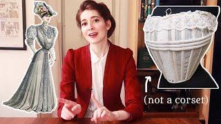 Achieving That Classic Edwardian Shape: Reconstructing a 1902 Bust Bodice