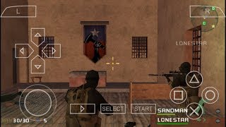 Download Game Socom U.S Navy Seals Fireteam Bravo PPSSPP Android