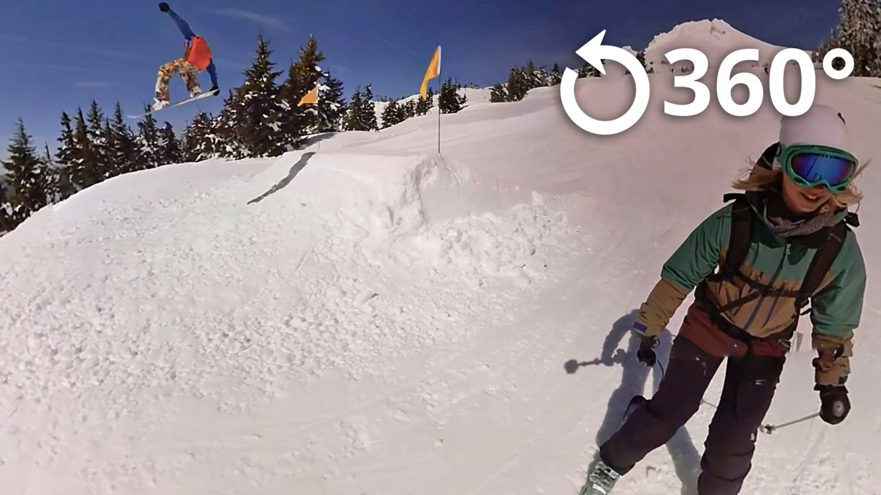 Mt Hood Territory - Snow - 360 video