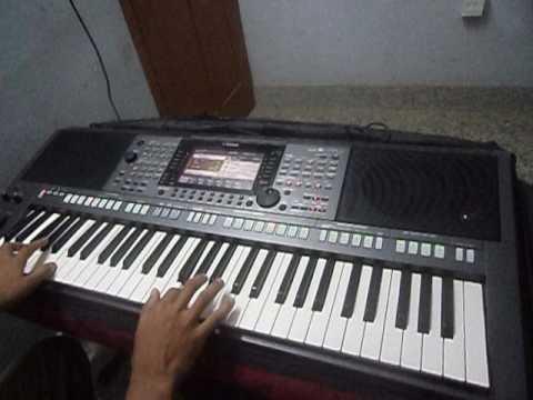 Malankara Holy mass song Swargadhipathe deva on keyboard