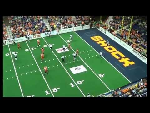 Arvell Nelson 2013 AFL Highlights - Spokane Shock