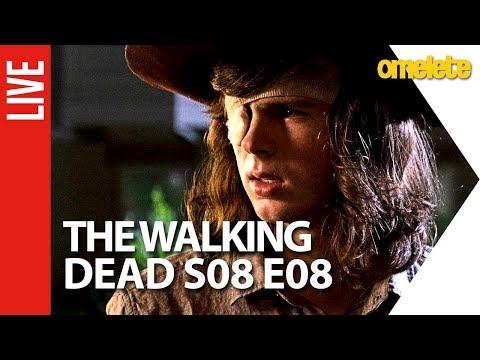 The Walking Dead Comentado - S08E08   AO VIVO