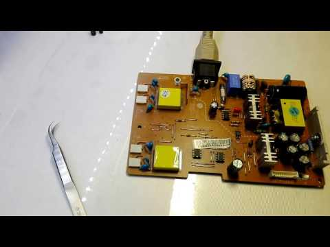 монитор LG FLATRON L1953S ремонт блока питания
