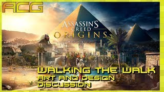 Assassins Creed Origins Walking the Walk - Artistic, Game Design, And Technical Discussion