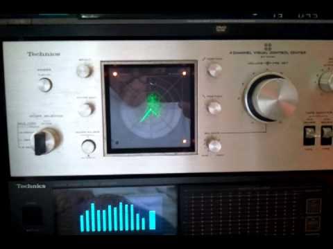 Download TECHNICS 4 CHANNEL VISUAL CONTROL CENTER SH 3434