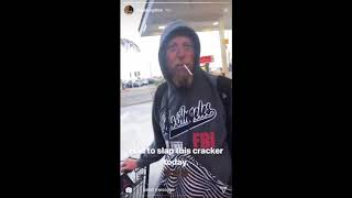 "Rapper Freddie Gibbs Slaps Homeless White Man For Saying The ""N-Word!"""