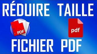 RÉDUIRE LA TAILLE D'UN FICHIER PDF FACILEMENT | TUTO