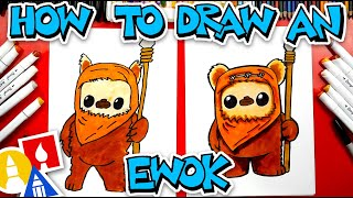 How To Draw An Ewok From Star Wars