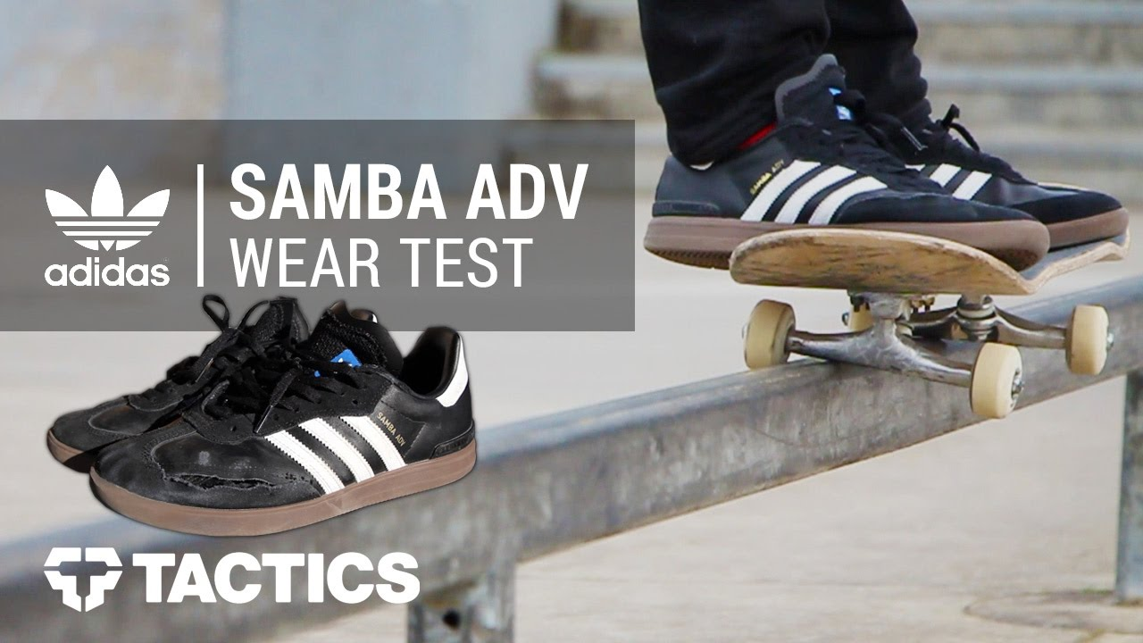 Adidas Skateboarding Samba ADV Skate Shoes | Tactics