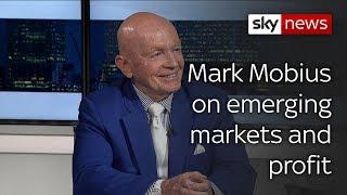 Mark Mobius: 'growing awareness of profitability of emerging markets'