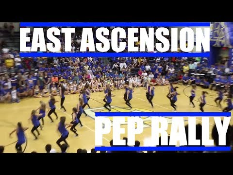East Ascension HomeComing Pep Rally